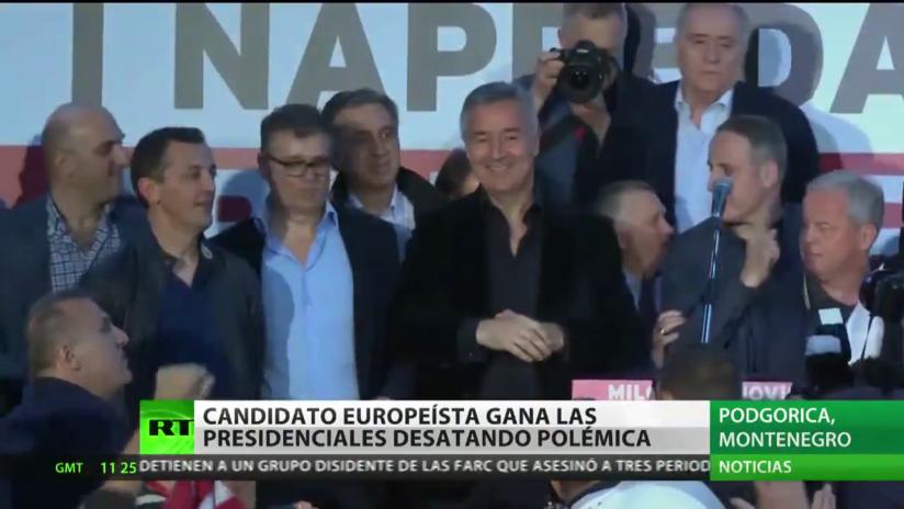 Djukanovic se proclama vencedor de las presidenciales en Montenegro