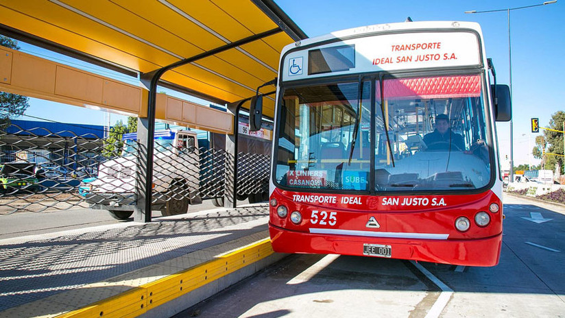 Huelga en Argentina tras el asesinato del chofer de un autobús a manos de dos pasajeros