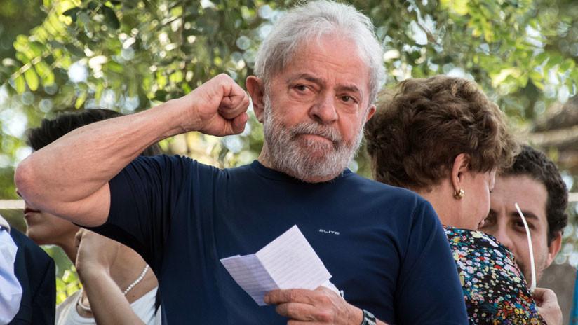 El Supremo Tribunal Federal de Brasil podría dejar en libertad a Lula da Silva