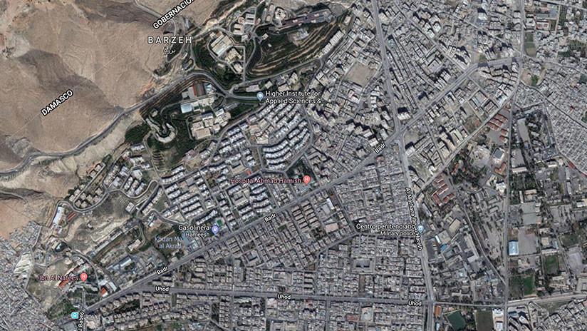 Google Maps muestra los objetivos en Siria que fueron atacados por EE.UU., Reino Unido y Francia