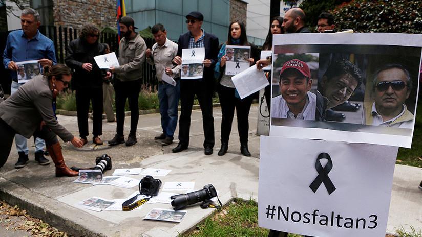 Asesinato de periodistas ecuatorianos: Ecuador se da 10 días para capturar a 'Guacho'