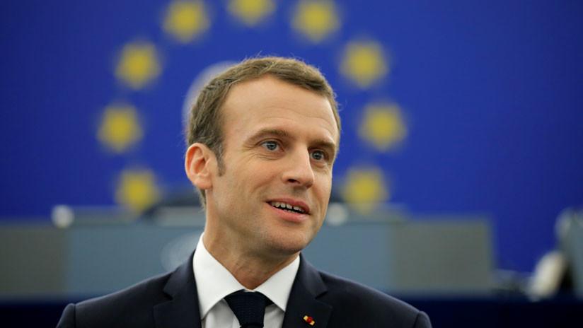 """Macron cree que es """"igual a Putin"""" (al menos así lo afirma el periodista que lo entrevistó)"""