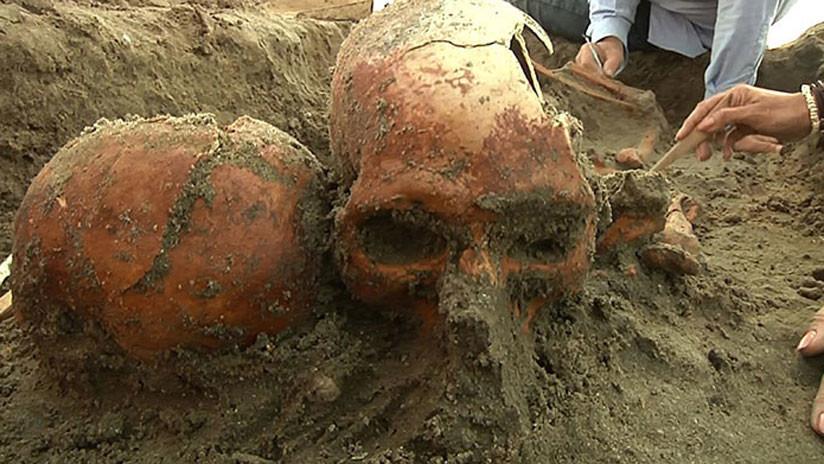 Hallan restos humanos de tiempos prehispánicos en una playa de México