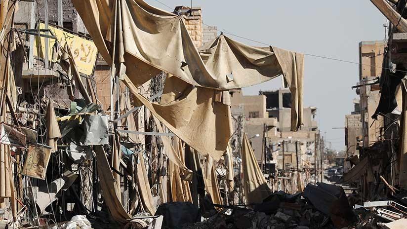 """""""De 70 % a 80 % de los edificios de Raqa están destruidos"""""""