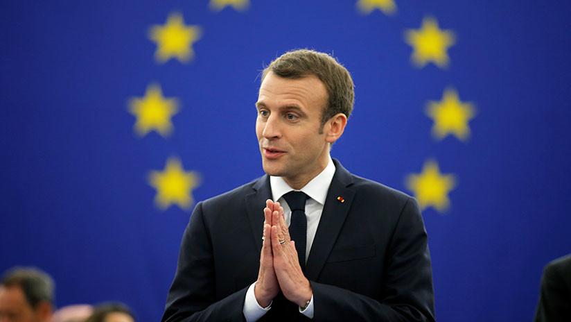 "Macron alerta de una ""guerra civil en Europa"""