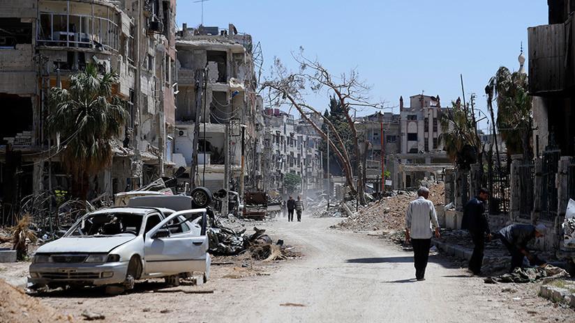 El ministro de Defensa iraní llega a Bagdad para discutir la triple agresión contra Siria