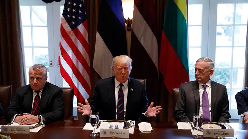 NYT: Mattis instó a Trump a buscar la aprobación del Congreso antes del ataque a Siria