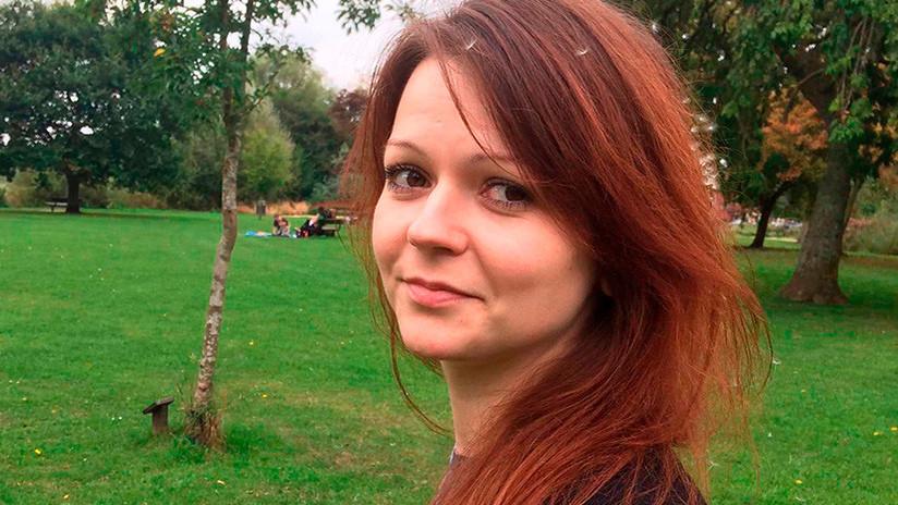 """Moscú: """"Yulia Skripal es rehén de las autoridades británicas y está sometida a medidas psicológicas"""""""
