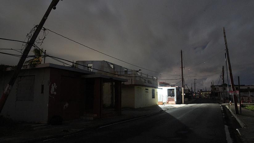 Un apagón golpea a toda la isla de Puerto Rico