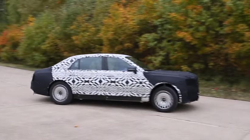 El prototipo de limusina para Putin pasa con éxito las pruebas de choque