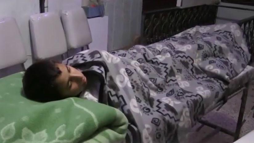 """""""Hacía frío y tenía miedo"""": Habla el niño del documental sobre supuesto ataque químico en Siria"""