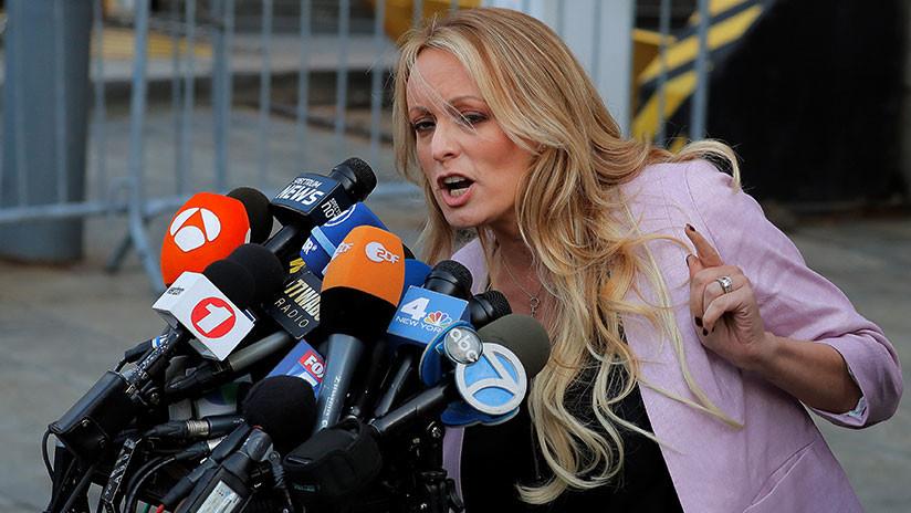 El abogado de Stormy Daniels planea presentar una demanda por difamación contra Trump