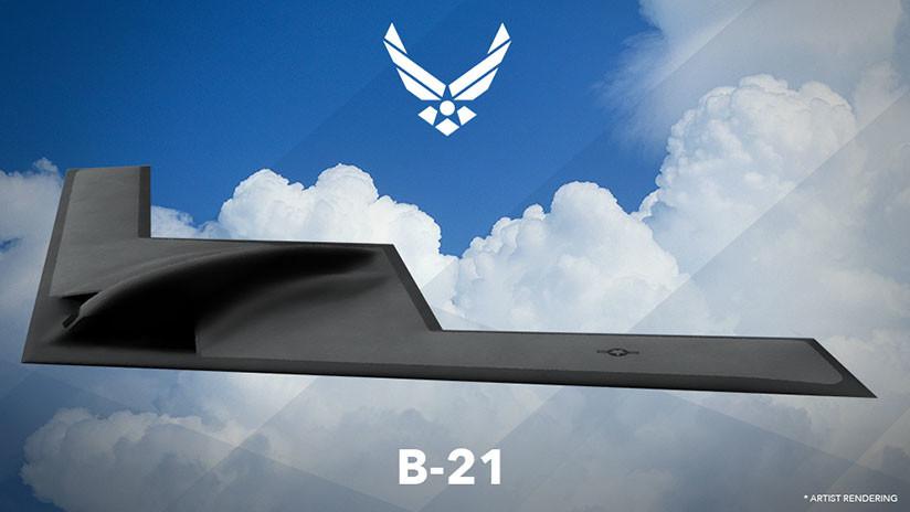 """La Fuerza Aérea de EE.UU. termina el diseño preliminar de su nuevo y """"temible"""" bombardero, el B-21"""