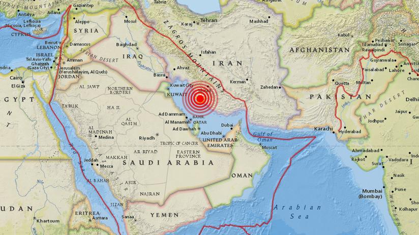 Se registra un terremoto de magnitud 5,9 en el sur de Irán