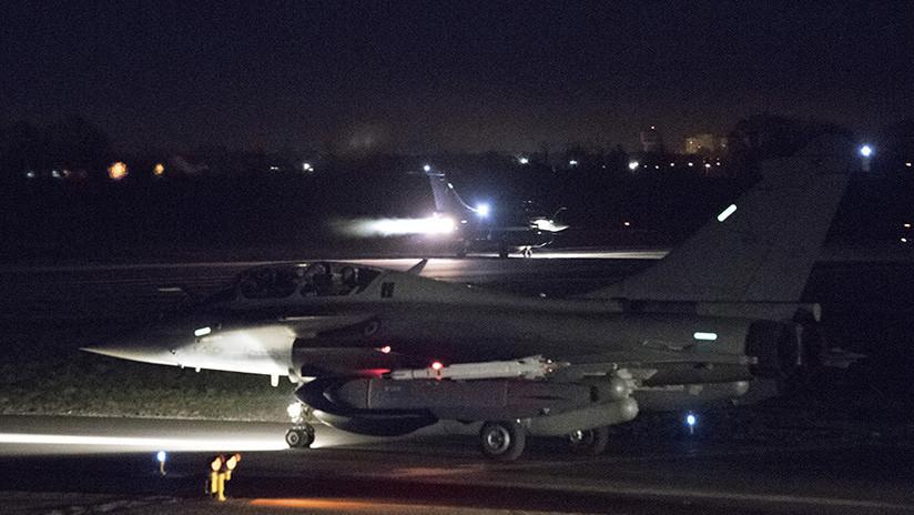 Ataque francés a Siria: Reportan que 4 de 16 misiles ni siquiera pudieron ser lanzados