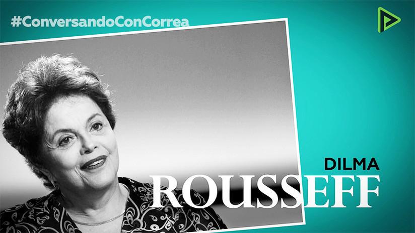 """Dilma Rousseff a Rafael Correa: """"Sacamos a Brasil del mapa mundial del hambre"""""""
