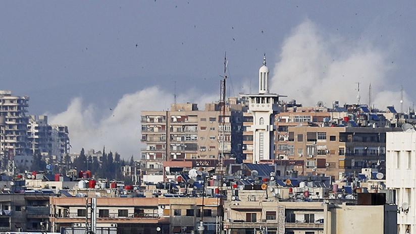 Rusia revela el verdadero objetivo del ataque de la coalición occidental contra Siria