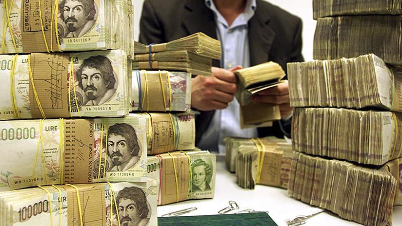 Un italiano hereda 1,5 millones de euros en liras italianas pero no le traen nada más que problemas