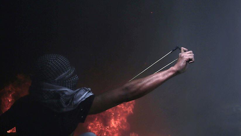 Al menos 729 heridos por los choques entre palestinos y fuerzas de Israel en la Franja de Gaza