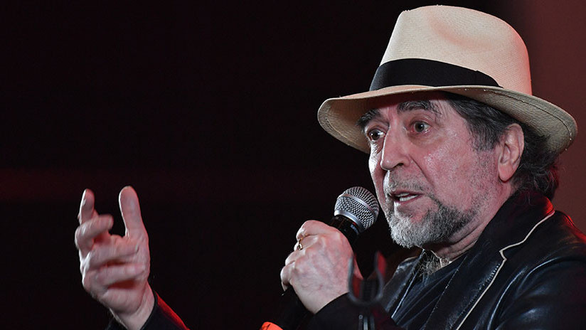 Hospitalizan al cantante español Joaquín Sabina por una trombosis