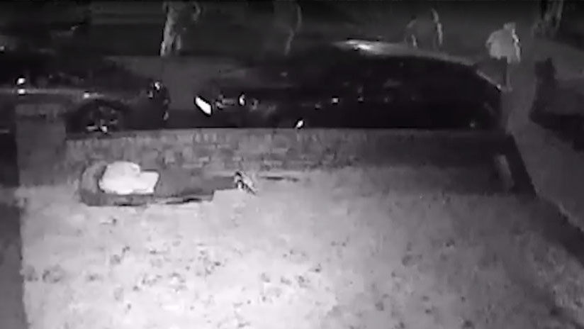 VIDEO: Una adolescente británica intenta burlar a un grupo de matones armados con bates