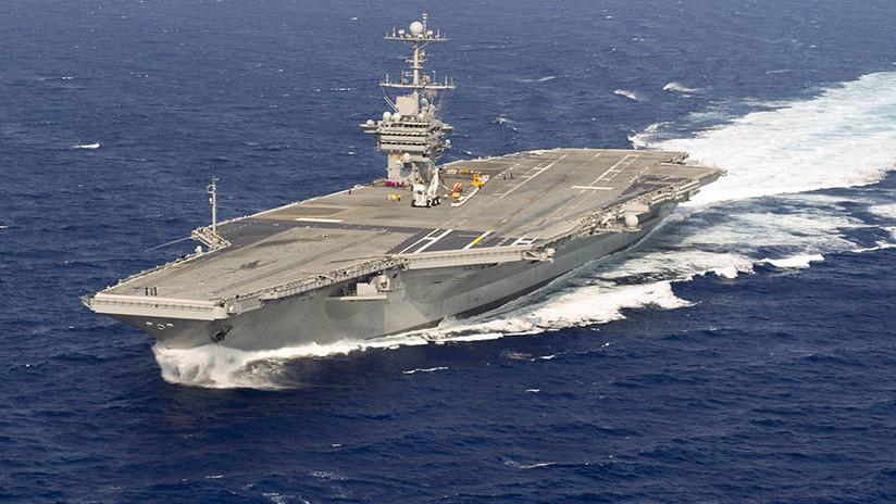 """""""Contener a Rusia"""": EE.UU. podría dejar un portaviones y su grupo de ataque en el Mediterráneo"""