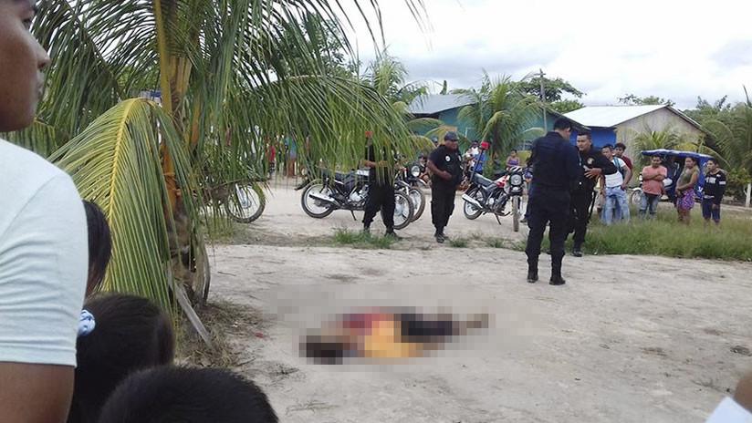 FUERTES IMÁGENES: Linchan al presunto asesino canadiense de una lideresa indígena de Perú (18+)