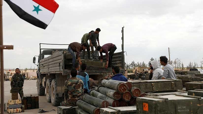 Siria: Al menos 2.850 milicianos ya han abandonado Damasco desde el 20 de abril