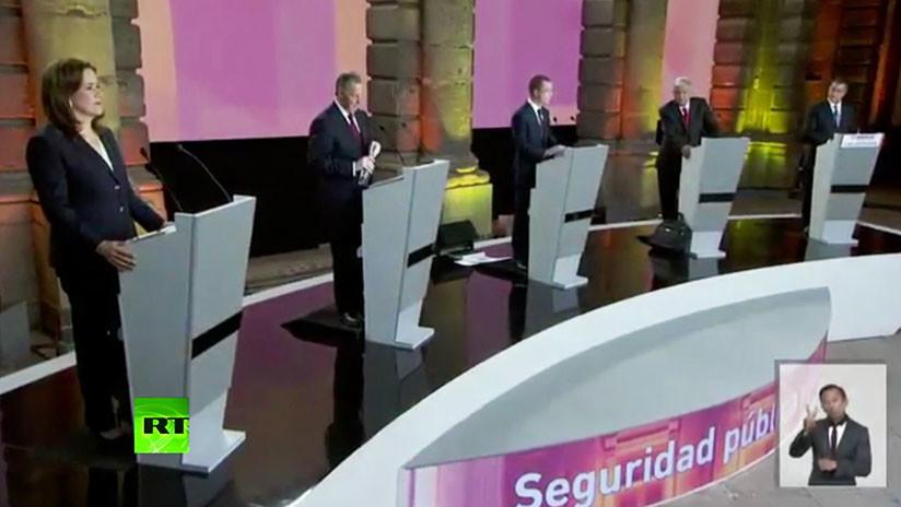 VIDEO: Primer debate electoral en México ante las presidenciales del 1 de julio