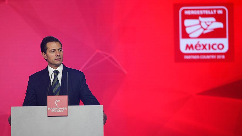 Peña Nieto celebra un principio de acuerdo con la UE sobre el Tratado de Libre Comercio