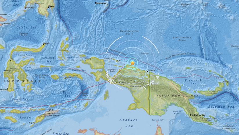 Un sismo de magnitud 5,6 sacude las costas de Indonesia