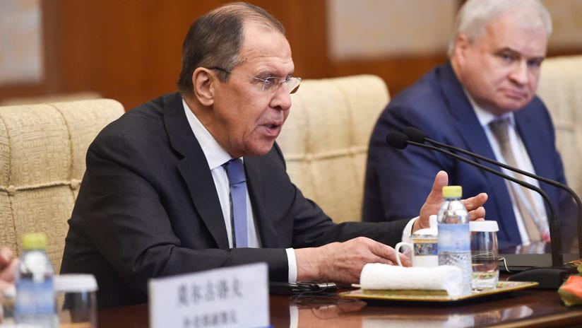 """Lavrov: Todas las partes del diálogo norcoreano deben tomar """"pasos sincronizados hacia adelante"""""""