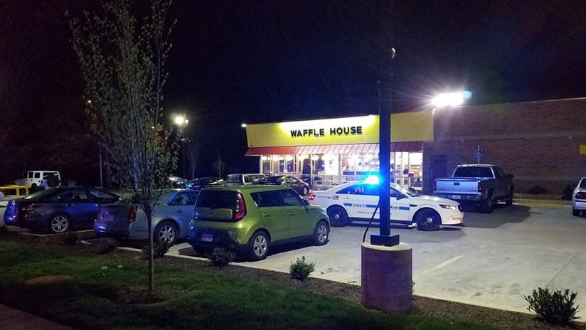 EE.UU.: Detienen al sospechoso del tiroteo mortal en el Waffle House de Nashville