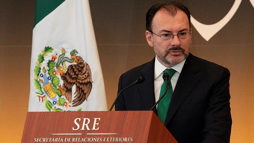 """México ve """"inaceptable"""" que se condicione la negociación del TLCAN a la política migratoria de Trump"""