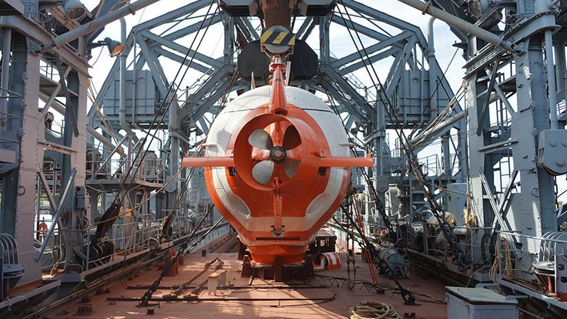 Rusia desarrolla un nuevo dron submarino capaz de explorar el punto más profundo del océano