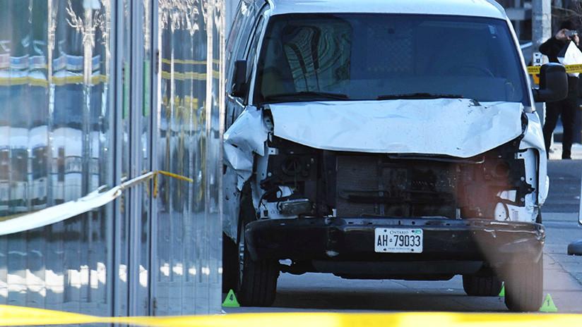 La Policía identifica y captura al sospechoso del atropellamiento múltiple en Toronto (FOTO)