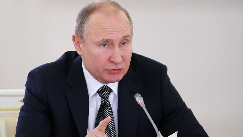 Putin: El uso de la fuerza militar por algunos países al margen de la ONU beneficia al terrorismo
