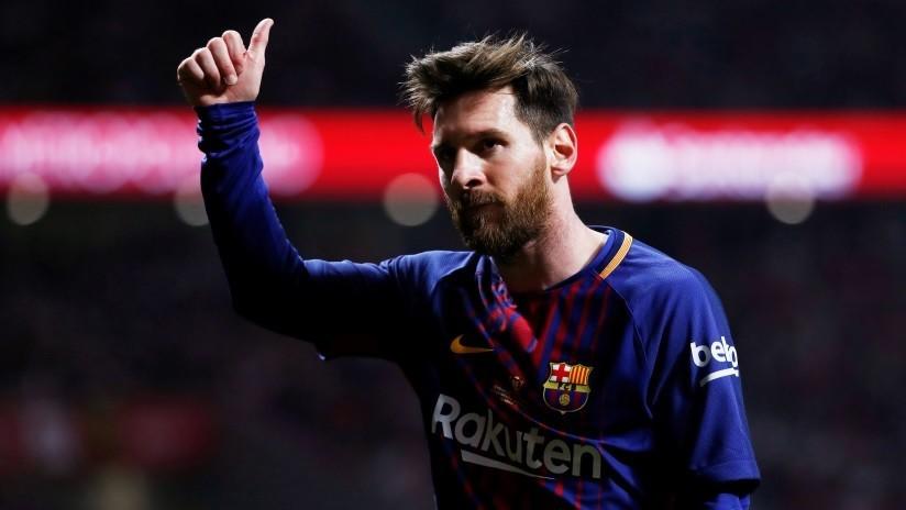 ¿Tiene seis dedos en el pie derecho? La foto de Messi que dejó perplejos a los internautas