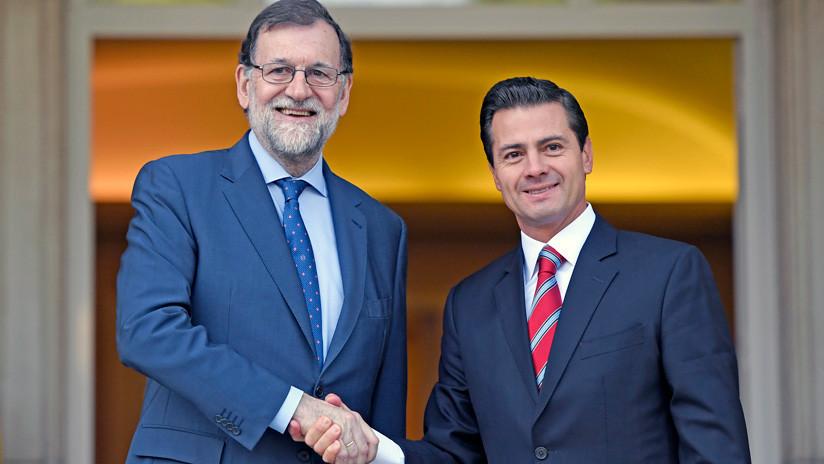 Rajoy y Peña Nieto reafirman su sintonía en un encuentro bilateral en Madrid