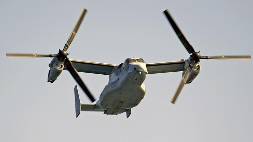 Otros dos convertiplanos militares de EE.UU. aterrizan de emergencia en Japón
