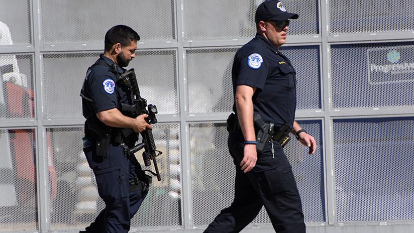 Detienen a un hombre armado en la oficina consular iraní en Washington