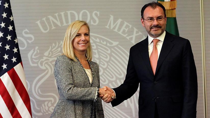 """Canciller de México en EE.UU.: Nuestra política migratoria es """"soberana"""""""