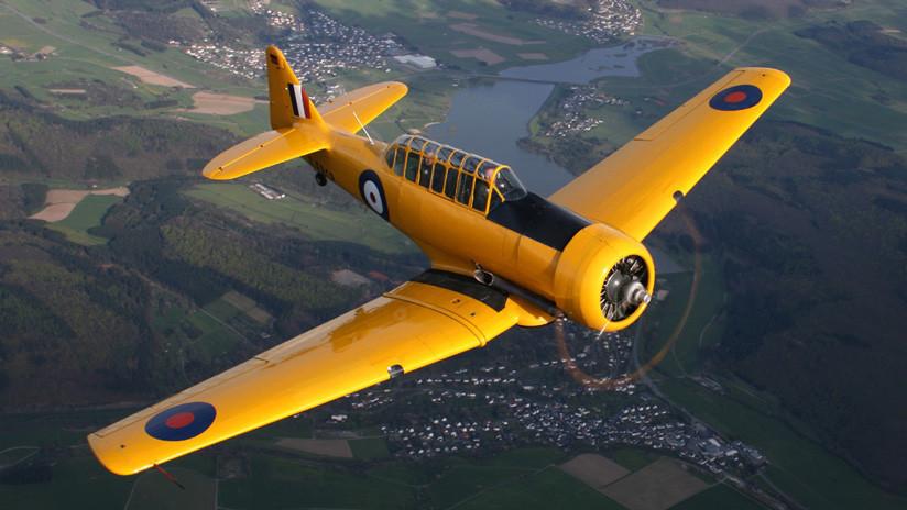 EE.UU.: Dos personas mueren al caer un avión de la Segunda Guerra Mundial en una base militar
