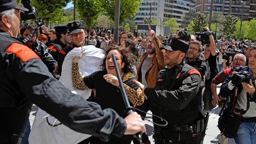 España, indignación por la sentencia a los acusados de violación grupal en los Sanfermines