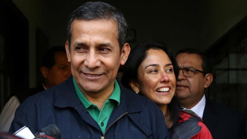 Perú: Tribunal Constitucional revoca prisión preventiva a Ollanta Humala y Nadine Heredia