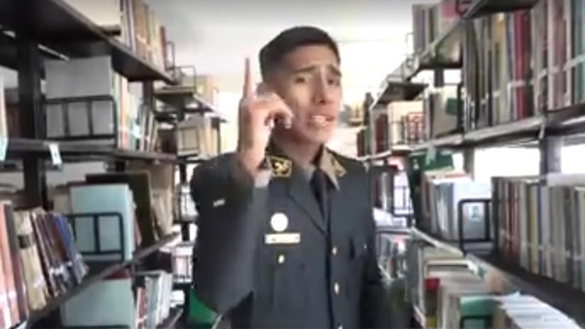 VIDEO: El rap del policía peruano que se hizo viral por hablar de libros