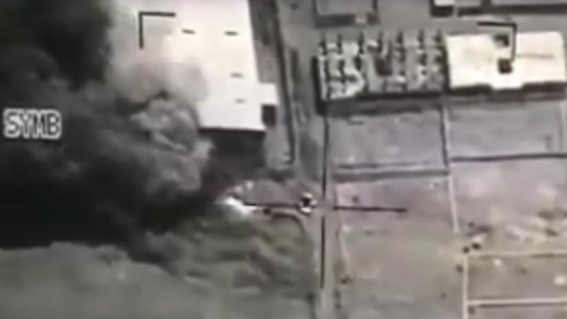 VIDEO: Filman la muerte del líder del movimiento hutí de Yemen bajo un misil saudita