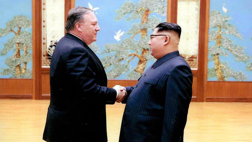 La Casa Blanca publica fotos de la reunión de Pompeo y Kim Jong-un