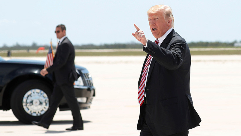 Trump envía al Congreso un informe sobre la estrategia de EE.UU. frente a Corea del Norte