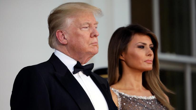 """""""Puedo meterme en problemas"""": Donald Trump confiesa que no le regaló nada a Melania en su cumpleaños"""